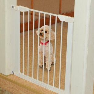 Swinging Safety Dog Gate by PawHut