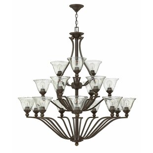Hinkley Lighting Bolla 18-Light Shaded Chandelier