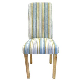 Monza Tall Back Upholstered Dining Chair Set Of 2