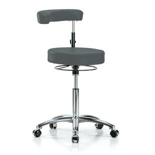 Height Adjustable Dental Stool With Procedure Arm by Perch Chairs & Stools New