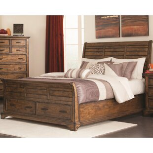 Canora Grey Baye Storage Sleigh Bed