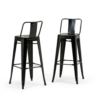 Sturges 30 Bar Stool (Set of 2) Williston Forge