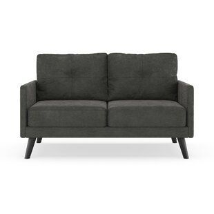 Cowling Micro Suede Loveseat by Corrigan Studio
