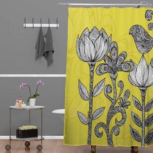 Comparison Deepak Garden Shower Curtain ByBungalow Rose