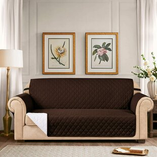 Quilted Reversible Loveseat Slipcover By Symple Stuff