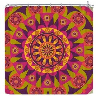 East Urban Home AFE Images Mandala Design Shower Curtain