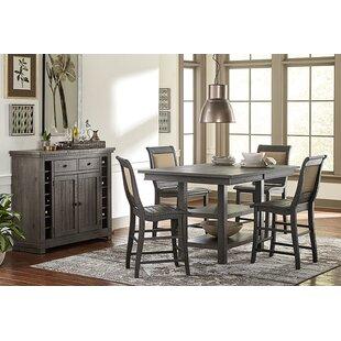 Reviews Epine Rectangular Counter Height Dining Table ByLark Manor