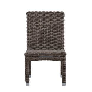 Darby Home Co Rathdowney Patio Dining Chair with Cushion (Set of 2)