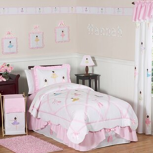 Ballerina 3 Piece Full/Queen Comforter Set