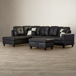 Russ Reversible Sectional with Ottoman