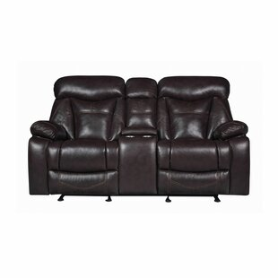 Breezeknoll Reclining Pillow Top Arms Loveseat By Loon Peak