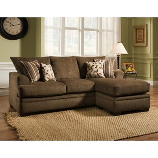 Homeland Reversible Sectional by Charlton Home