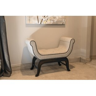 Swaffham Upholstered Bench by Charlton Home
