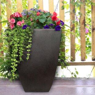 Burrus Square Resin Pot Planter By Fleur De Lis Living