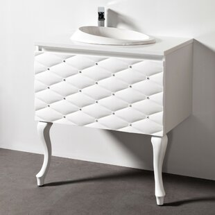Crewellwalk 810mm Wall Mounted Single Vanity Unit By Canora Grey