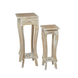 Champetre Pedestal Plant Stand By Lily Manor
