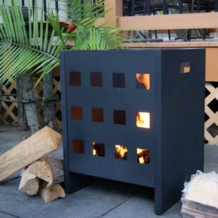 Deeco On-the-Go Steel Wood Burning Fire Pit