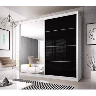 Gulledge Modern 2 Door Sliding Wardrobe By Mercury Row