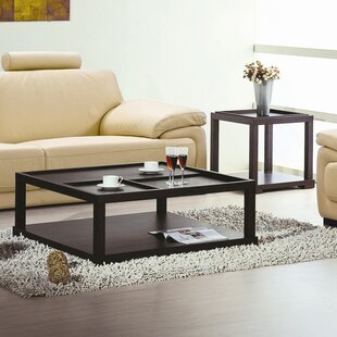 2 Piece Coffee Table Set By Hokku Designs