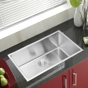 dCOR design Brier Single Bowl Kitchen Sink