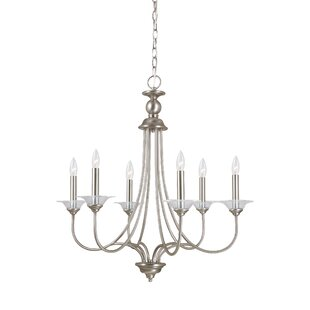 Darby Home Co Locklin 6-Light Candle-Styl..
