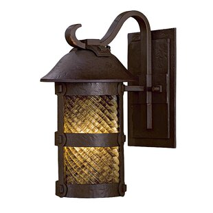 Compare Lander Heights 1-Light Outdoor Wall Lantern By Minka Lavery