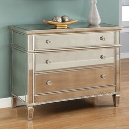 Mirrored Furniture You ll Love