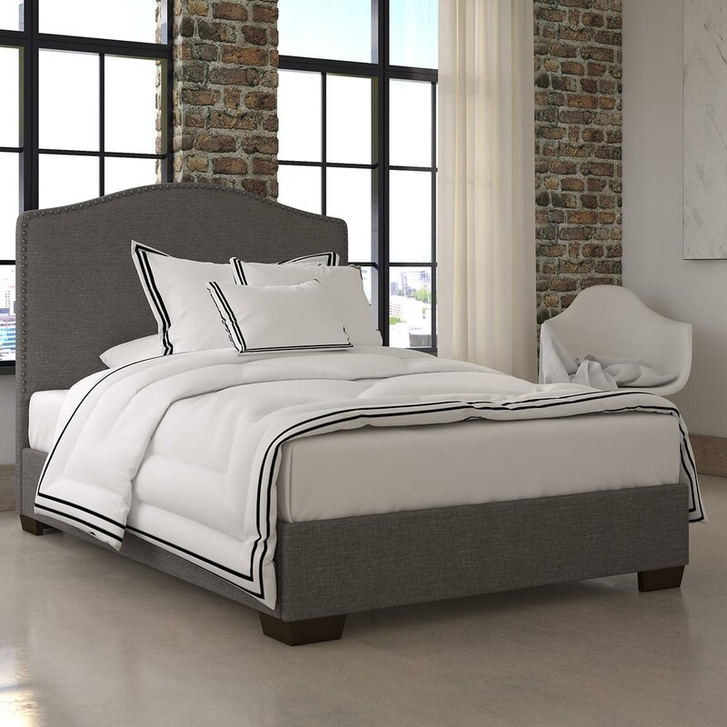 bed bedroom upholstered platform pinterest pin wadlington