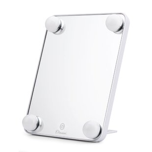 Best Price Conanso 4 Light Bulb Makeup Mirror By Symple Stuff