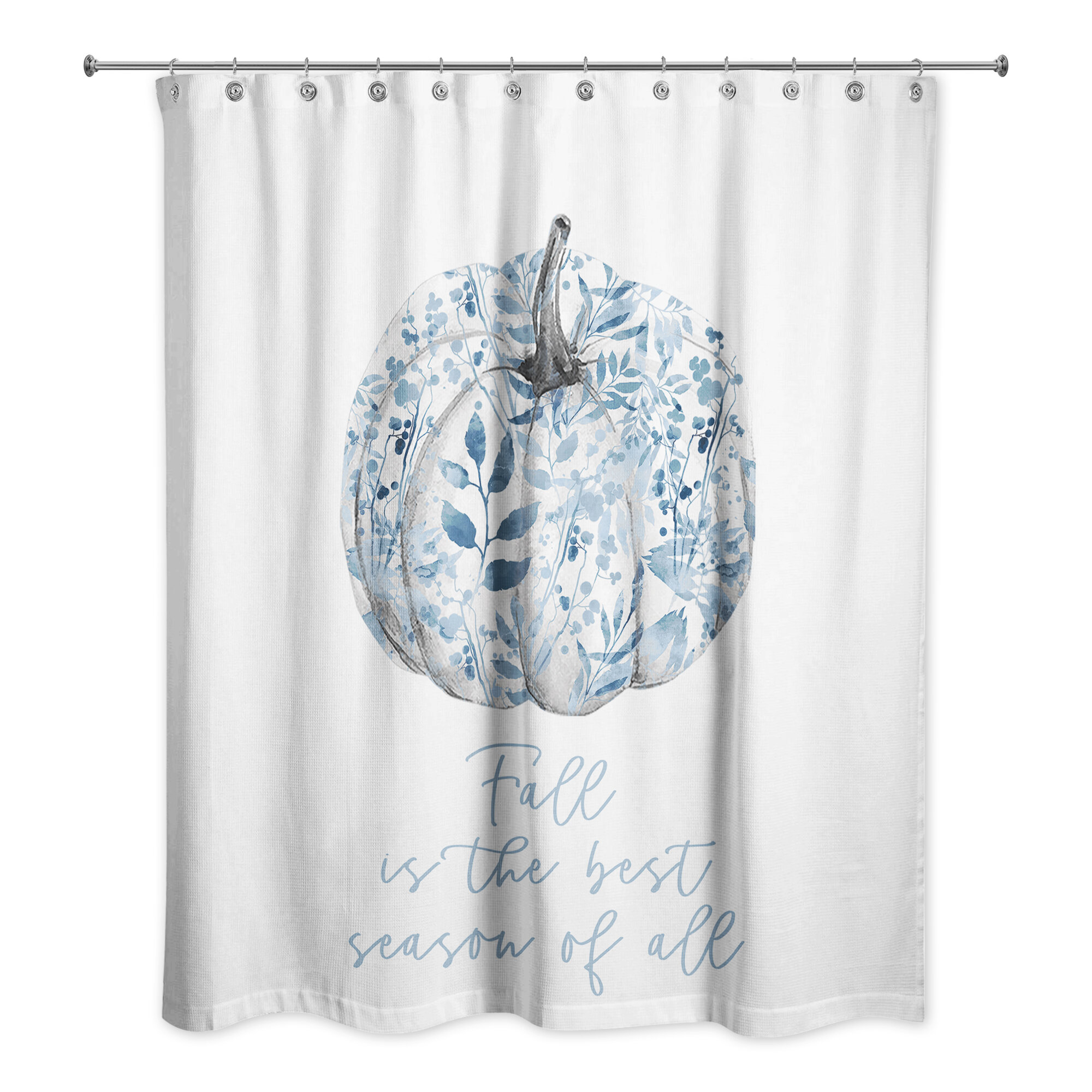 Polyester Thanksgiving Shower Curtains Shower Liners You Ll Love In 2021 Wayfair
