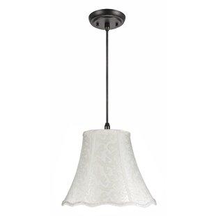 Erick 1-Light Bell Pendant..