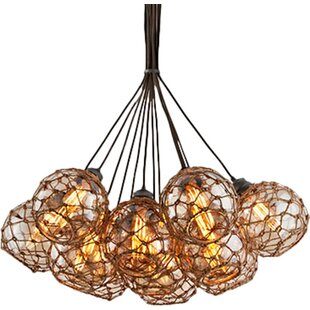 Rabin 13-Light Cluster Pendant by Bayou Breeze