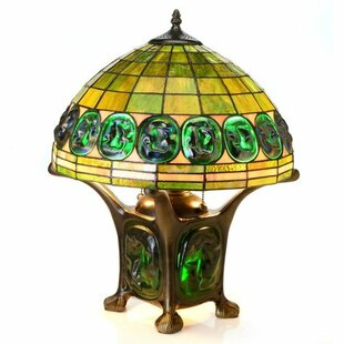 Inexpensive Turtle Back Mika Double Lit 20 Table Lamp By Warehouse of Tiffany
