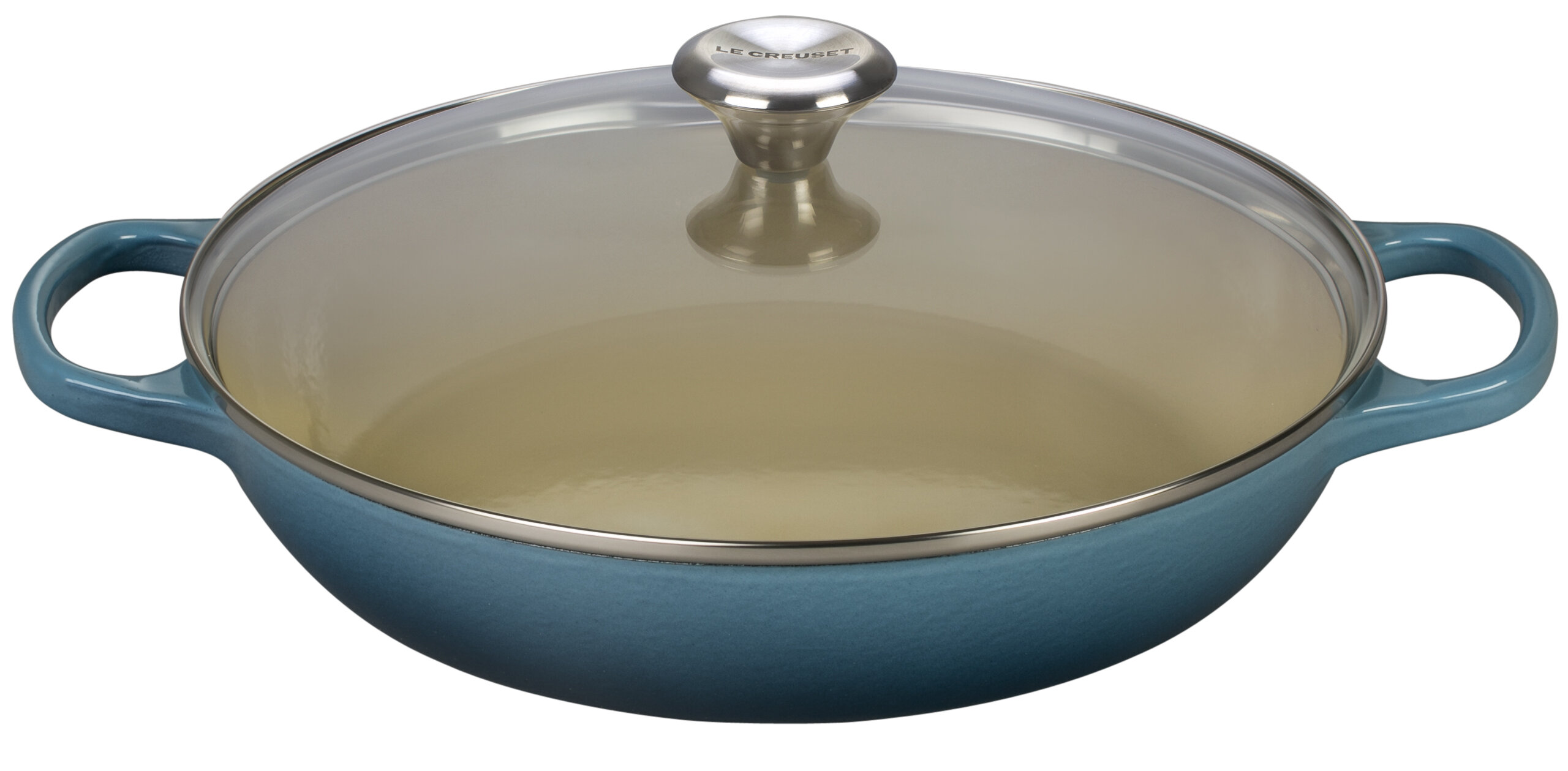 Cast Iron Round Buffet Casserole With Lid