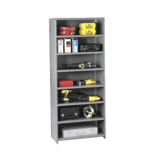 Q Line Closed 7 Shelf Shelving Unit Starter by Tennsco Corp.