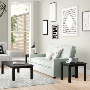 Carl 3 Piece Coffee Table Set by Zipcode Design