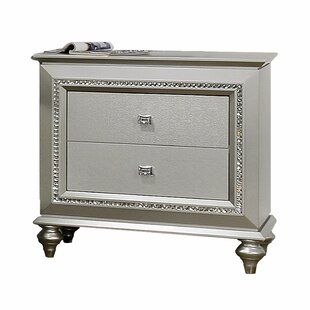 Dehon 2 Drawer Nightstand