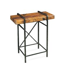 Studio Design End Table by Stone County Ironworks