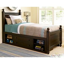 Darion Kids Panel Bed with Storage by Viv + Rae