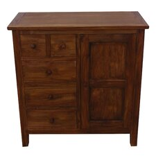 Yvonne 5 Drawer Accent Cabinet by NES Furniture