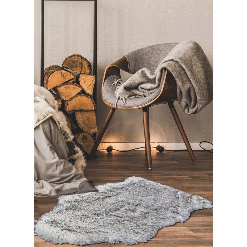 Ecarpetgallery Handmade Sheepskin Gray Rug Wayfair
