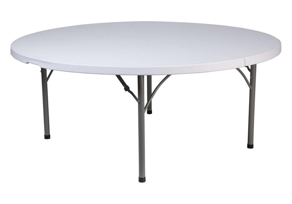 Charmant 71u0027u0027 Circle Folding Table