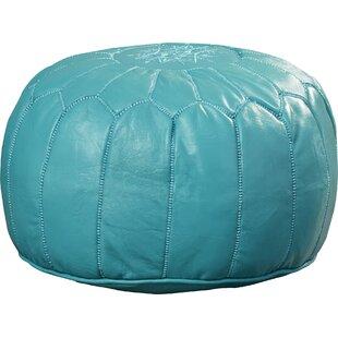 Fantastic Carolos Leather Pouf Inzonedesignstudio Interior Chair Design Inzonedesignstudiocom