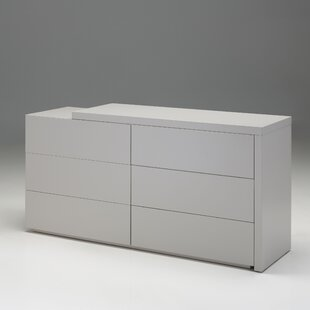 Debbi 6 Drawer Double Dresser