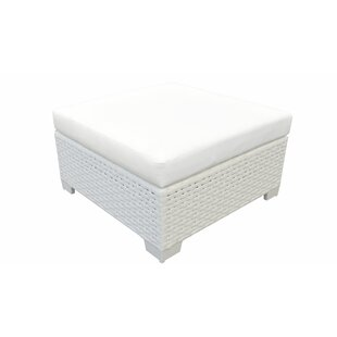 Monaco Outdoor Ottoman with Cushion
