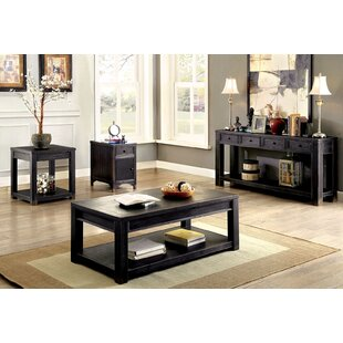 Andrew Home Studio Giovannini 4 Piece Coffee Table Set