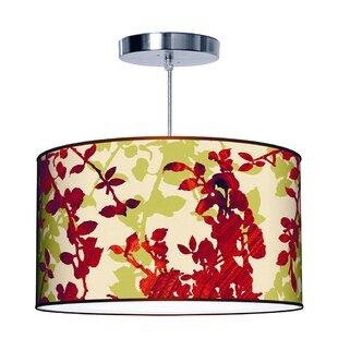 Jef Designs Organic Modern Leaf Pendant