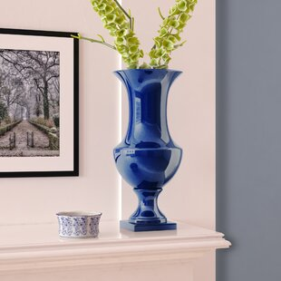 Sigmon Ceramic Urn Table Vase
