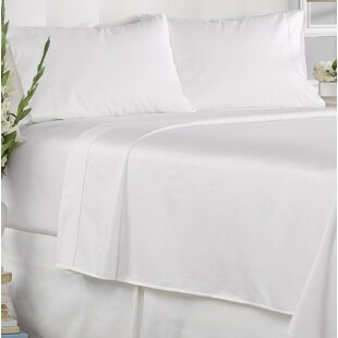Seth 450 Thread Count 100% Cotton Solid Pillowcase (Set of 2)