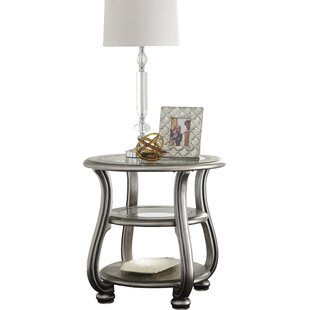 Affordable Price Guillaume End Table by Willa Arlo Interiors